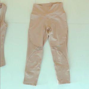 Alo pink blush yoga pants